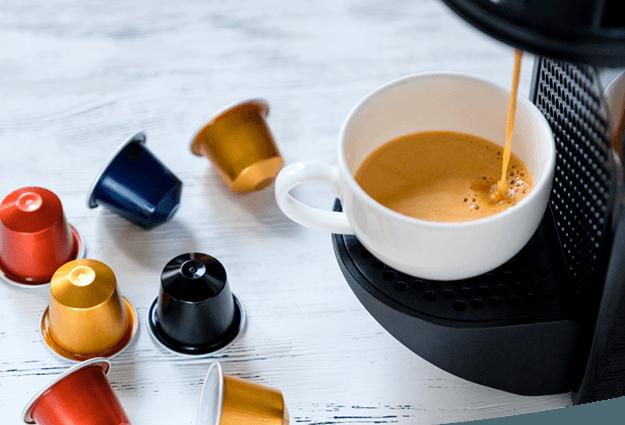 Machines à café à capsules pour entreprises